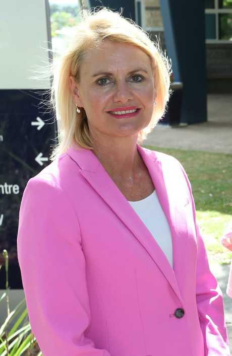Principal of St Aidan's Corinda Toni Riordan declined to be interviewed. Picture: AAP Image/Richard Waugh.