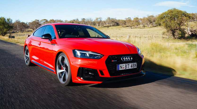 The RS 5 Sportback.