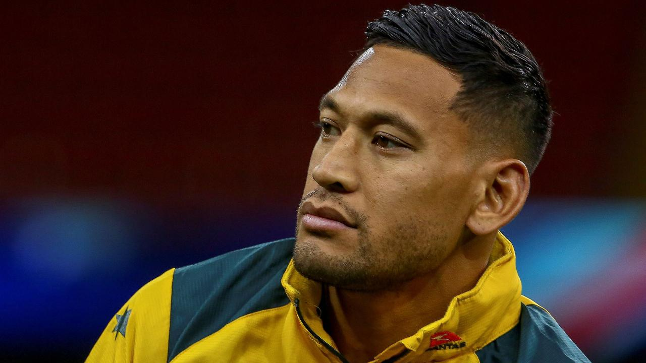 Israel Folau has launched another attack on Rugby Australia.