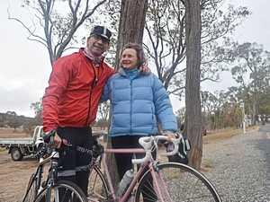 David Jacobs and Katia Strounina made the journey