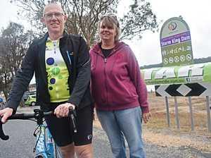 That Dam Ride organisers Dan Cuthbert and Jenny