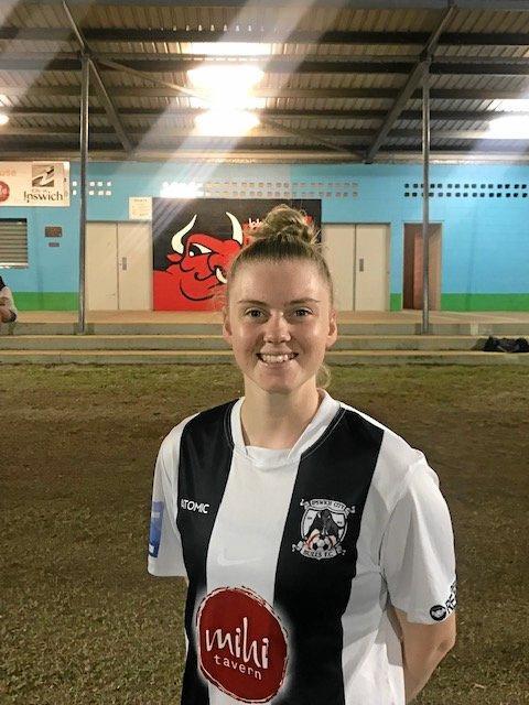 Ipswich City Bulls captain Shani Wilton scored five goals in her team's latest Brisbane Women's Premier League competition victory.