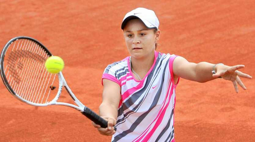 In 2010 as a youngster, Ipswich tennis player Ash Barty was beating women at major tournaments on the clay courts at One Mile. Now she's a French Open winner.