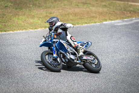 Get trackside for the Mini Motos at Cooloola Kart Track.