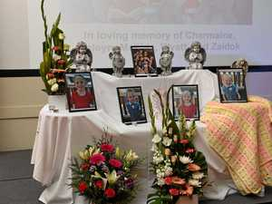 GALLERY: Hundreds mourn loss of Bay mother and four children
