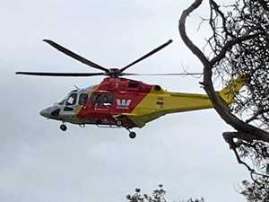 Helicopter aids in search for lost woman