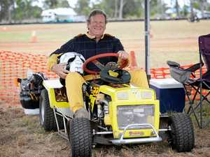 Competitors 'mow down' the opposition at Yaamba Raceway