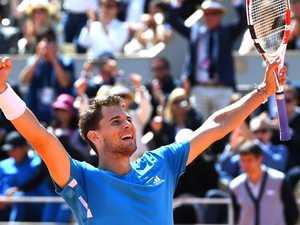 Thiem beats Djokovic in classic semi