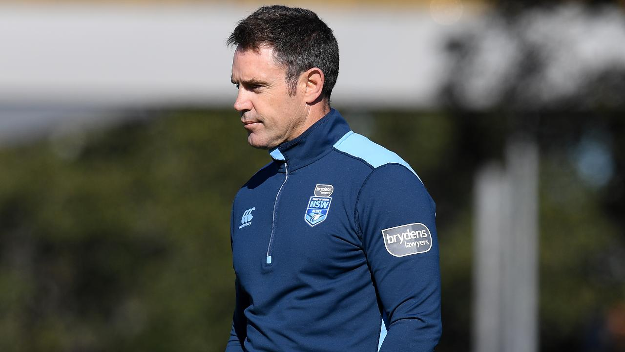NSW Blues coach Brad Fittler has plenty to ponder ahead of Origin II. Picture: AAP