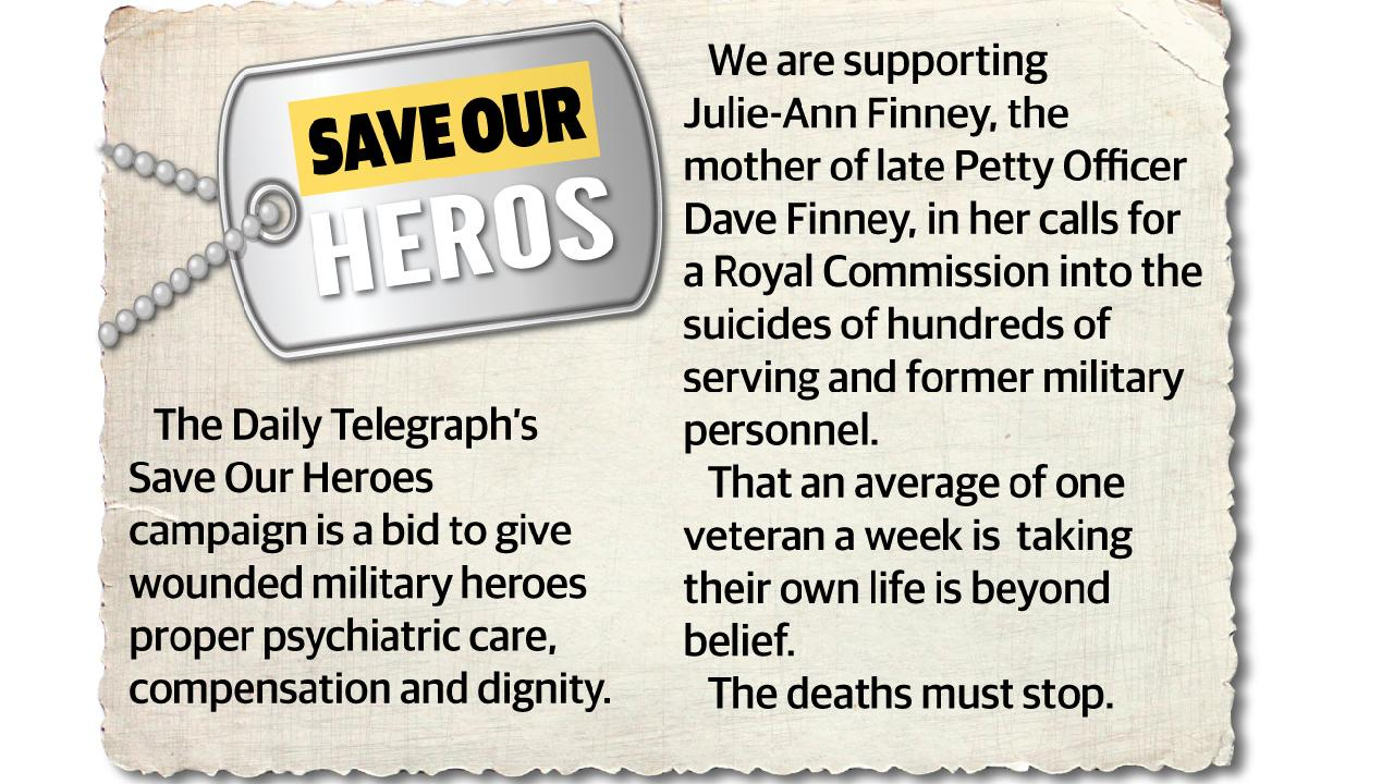 Daily Telegraph's Save Our Heroes campaign.