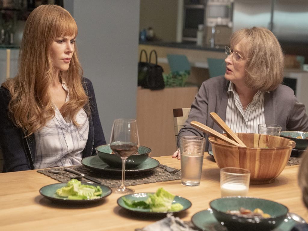 Big Little Lies season 2 images. Nicole Kidman and Meryl Streep (right).