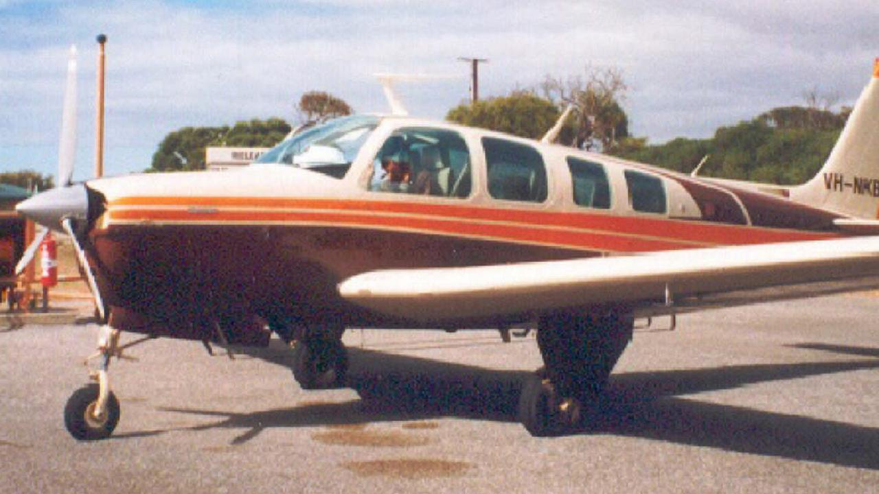 A Beechcraft Bonanza A36. Picture: Supplied