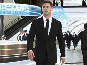 Where Hemsworth gets his natural knack for movie stunts
