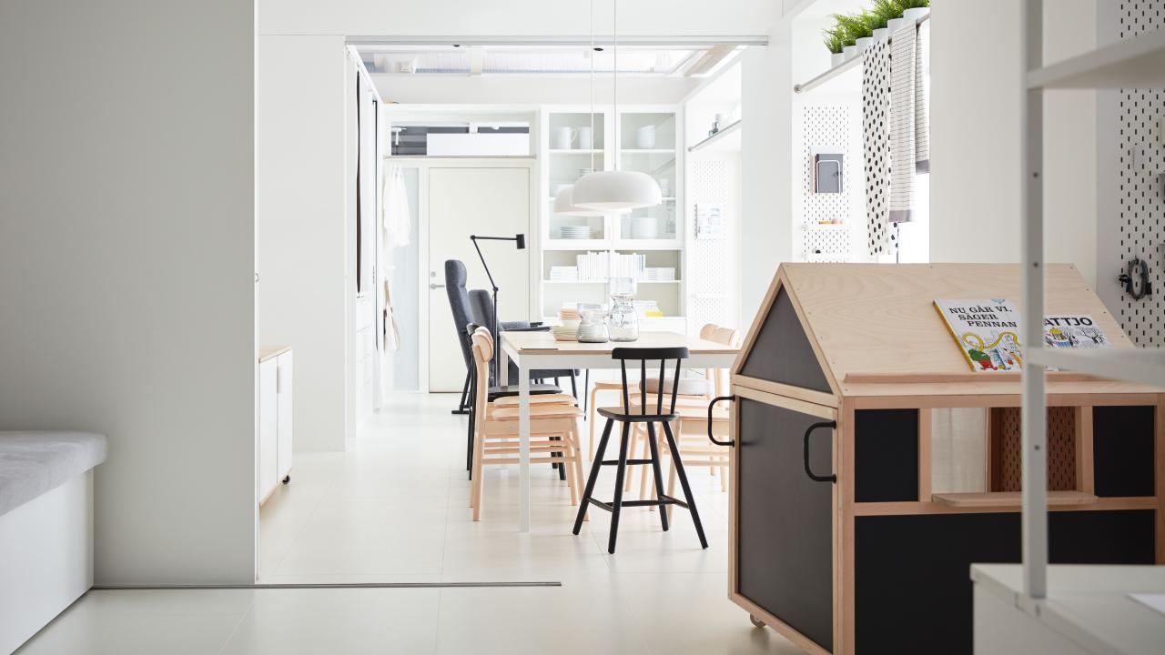 Ikea's prototype 'home of the future'.