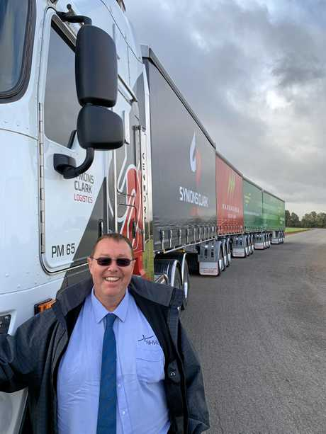 NHVR's 'Quadfather' Les Bruzsa was on hand to help celebrate the milestone in SA.