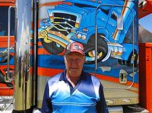 Trucks gave Bruce a great life