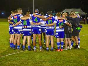 TOGETHER AS ONE: Brothers secure win for club great