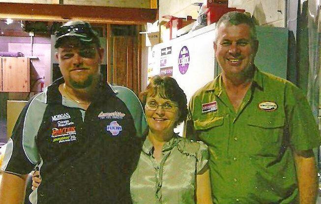 Mackay's Tim Pullen was killed in April 2012.