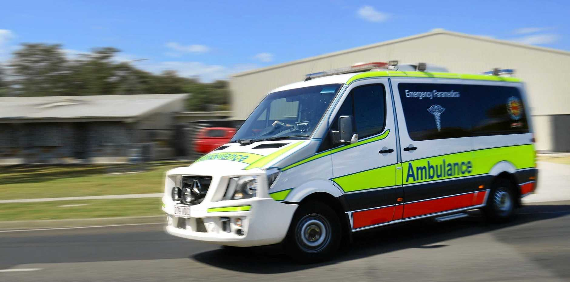 Emergency Services have responded to a crash on the Warrego Highway.