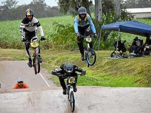 BMX riders celebrate Maryborough BMX Club's 40th birthday