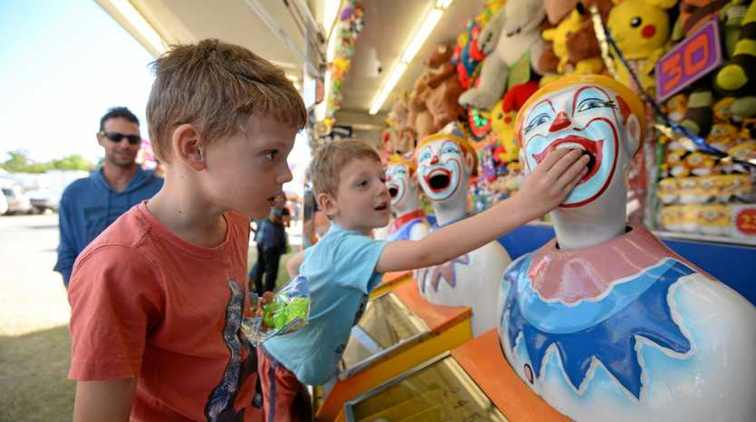 ROCKY SHOW: Max and Mason Aley at a previous event.