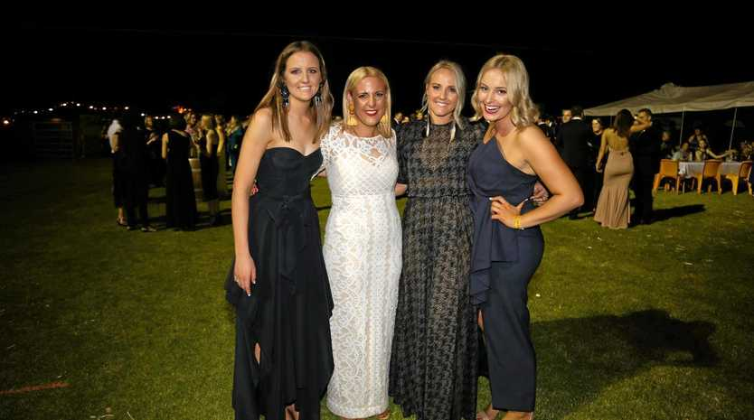 FABULOUS FOUR: RFDS local heroes Jess Weber, Tessa Dimond, Annie Jones and Andrea Crothers.