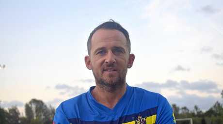 Gympie Gladiators 2019 - Kyle Nix coach/player.