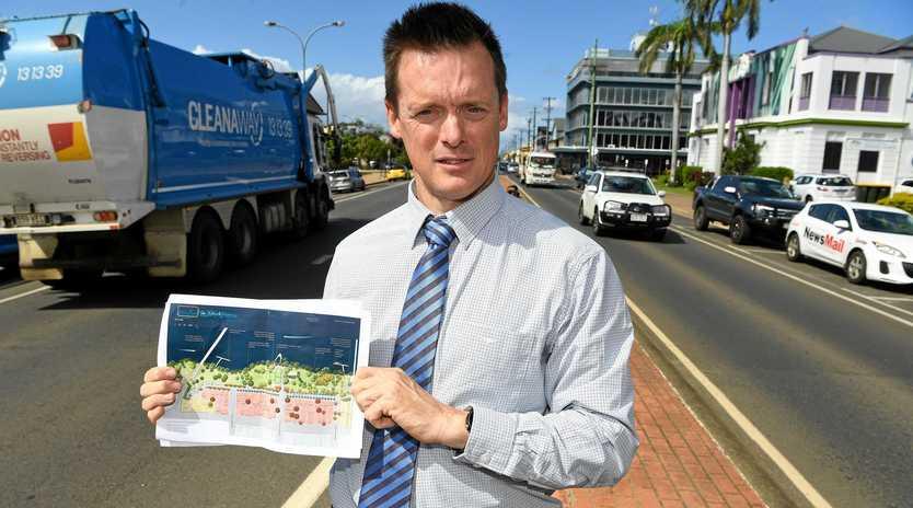 Bundaberg Regional Council's Head of Economic Development Strategic Projects Ben Artup in Quay Street.