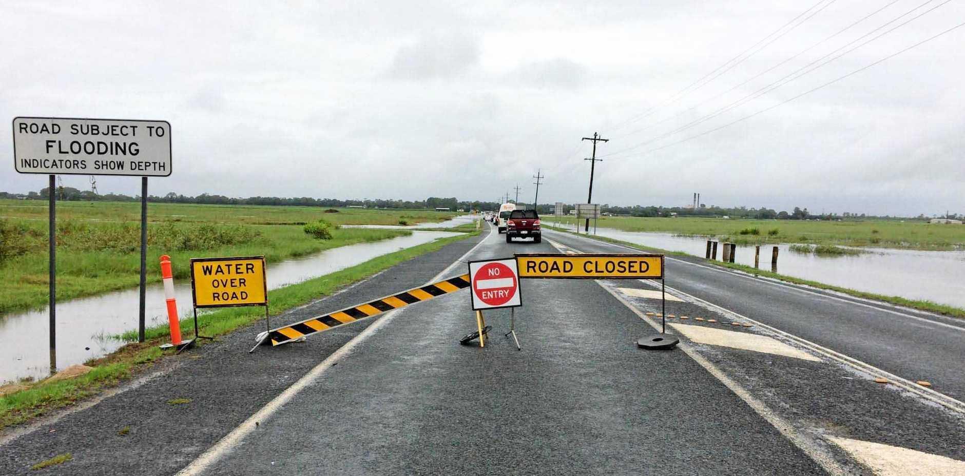 FLOODED: The full funding for Shute Harbour Road at Hamilton Plains has been secured.