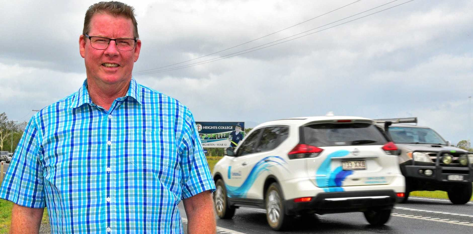 ROAD SUPPORT: Rockhampton MP Barry O'Rourke's wish was granted  when the state government released their budget which included $200 million for Rockhampton's Ring Road.