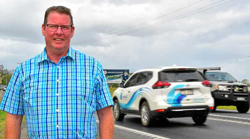 ROAD SUPPORT: Rockhampton MP Barry O'Rourke intends to lobby the Queensland Government for funding to upgrade Lawrie St.