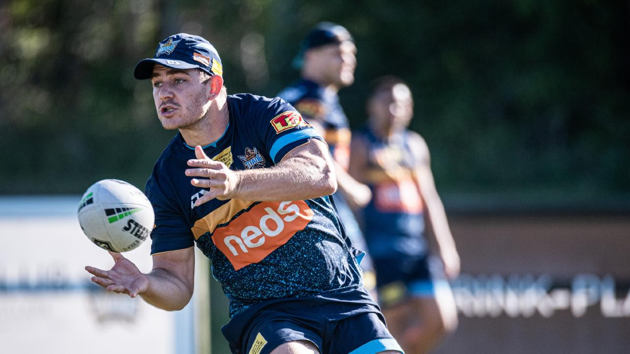 Ryley Jacks is determined to make the most of his opportunity in Ash Taylor's absence. Picture: Gold Coast Titans