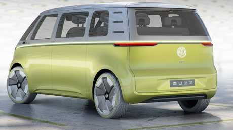 Volkswagen ID Buzz Concept is a throwback to the famous Kombi van. Picture: Supplied