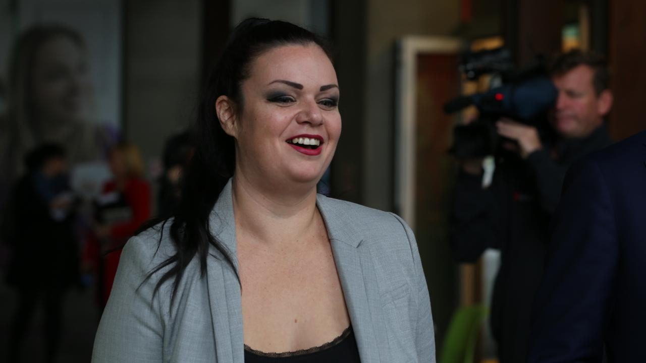 Penny Toland pictured after giving evidence to the CCC hearing in June 2017.