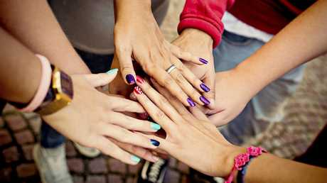 Manicures and feminism can go hand-in-hand, contrary to what some may believe. Picture: Getty