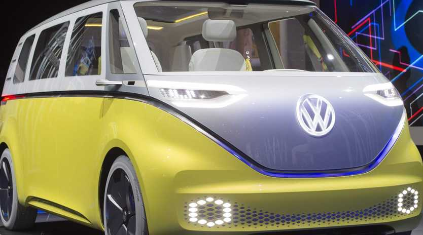 The Volkswagen I.D. Buzz.