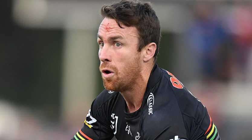 James Maloney says he could to the job for NSW if recalled to the Blues. Picture: Joel Carrett/AAP