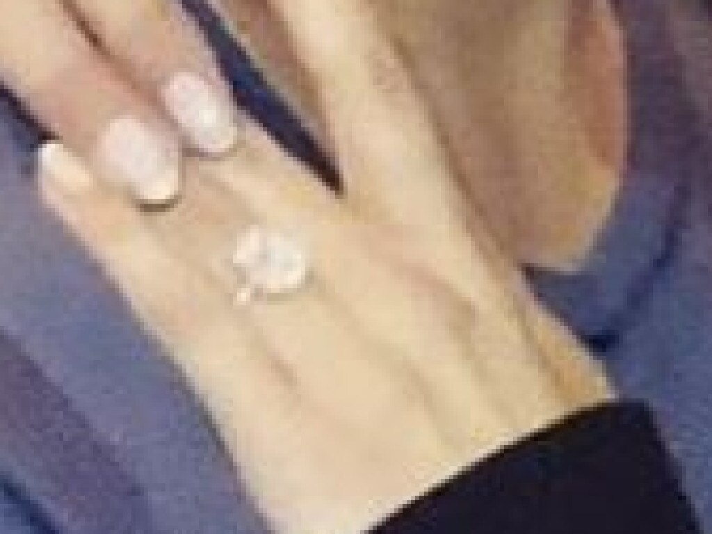 Katherine's engagement ring is reportedly worth $400,000. Picture: Instagram