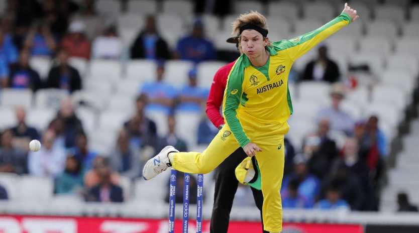 Adam Zampa likes to keep his hands warm, his skipper says. Picture: Frank Augstein/AP