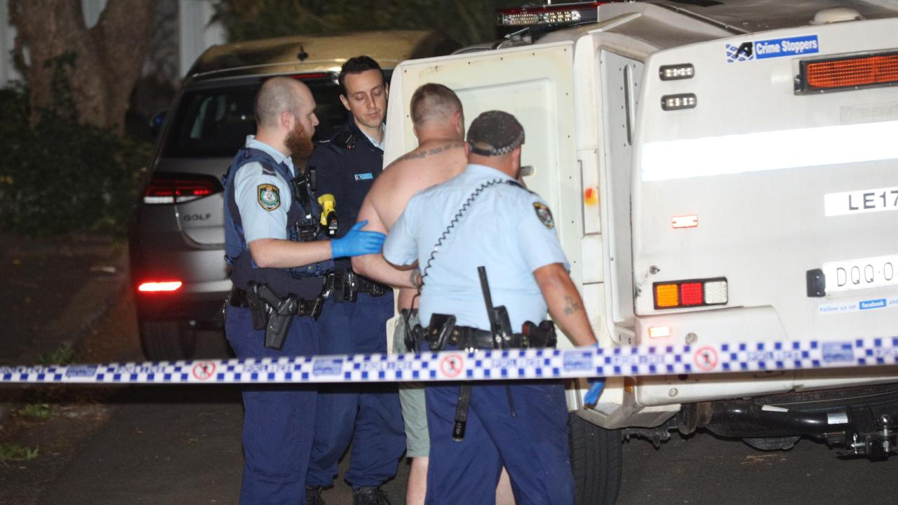 Man arrested after breaking into home in Balmain, Sydney.