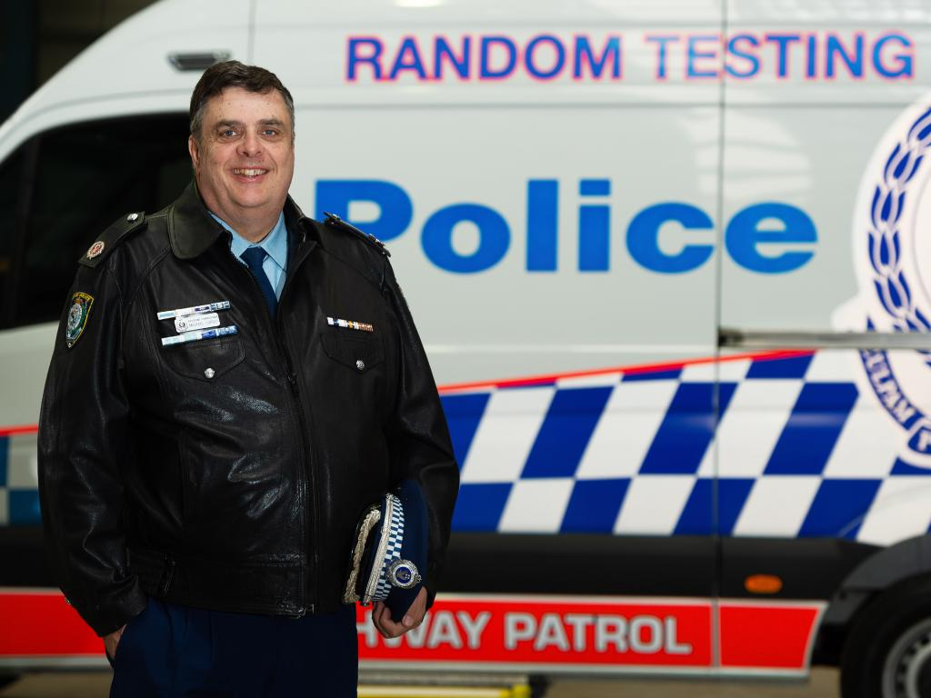 Assistant Commissioner Michael Corboy of the State's Traffic and Highway Patrol Command poses for a portrait at Huntingwood today. Friday August 31 (Image/Monique Harmer)