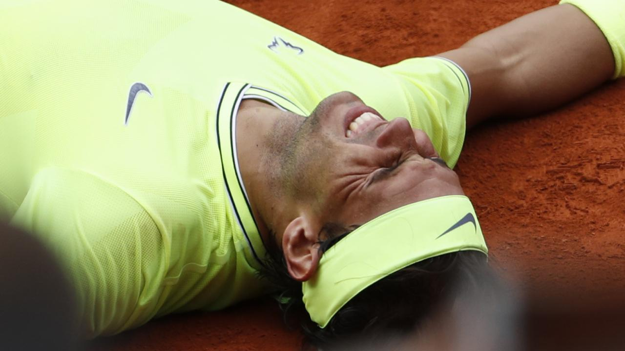 Rafael Nadal has a dozen wins at Roland Garros.