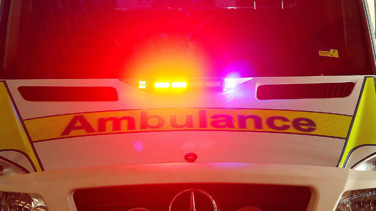 A teenage boy was rushed to hospital late last night with serious burns to his legs.
