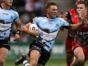 Salary cap pressure leaves young Shark on edge