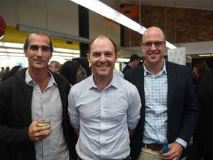 Richard Trevan, Dr Austin Curtin, and Andrew Bell at