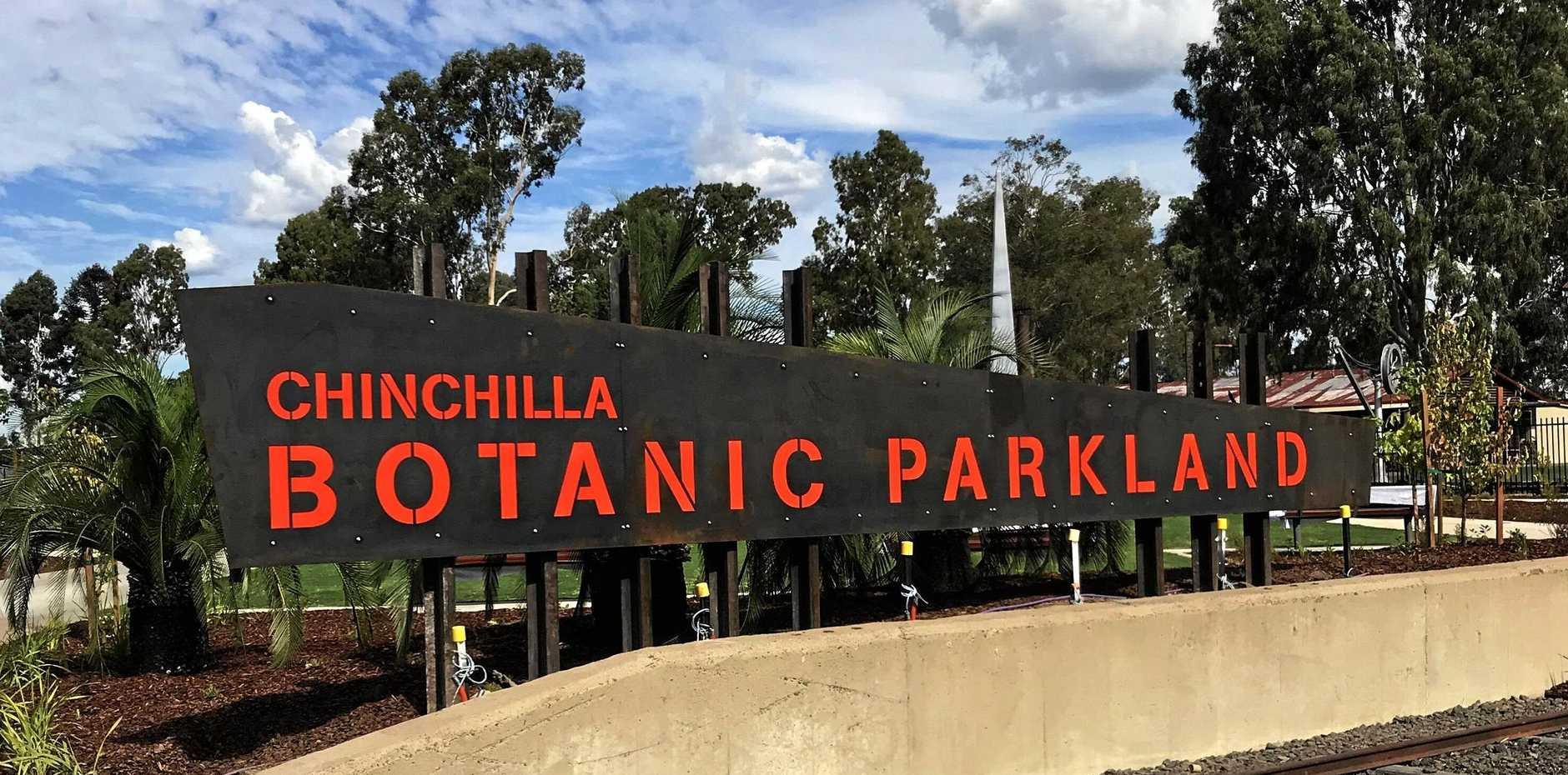 Chinchilla Botanic Parkland entry.