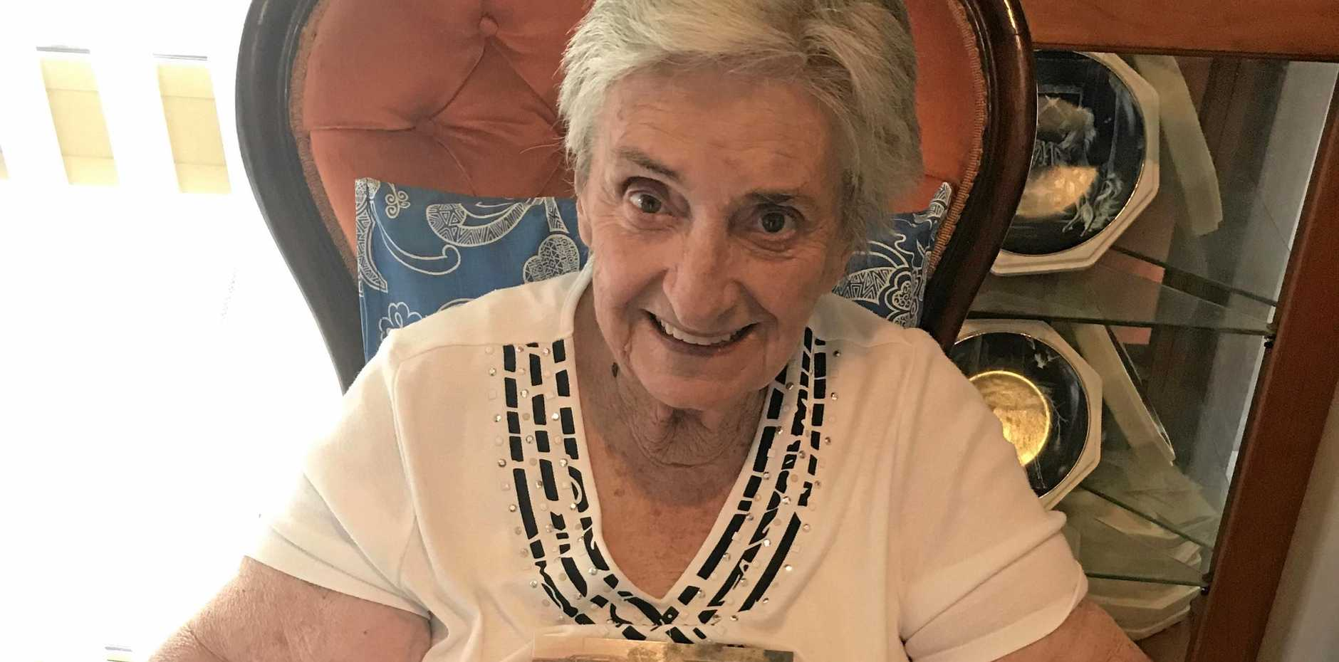 AUTHOR: Roma Ravn, 85, has just released her biography dubbed 'Stories from a life well lived'.