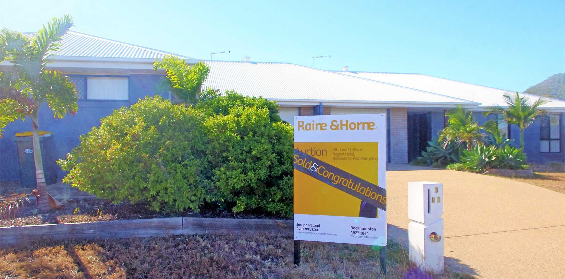 SOLD SOLD: 3 Diploma St, Norman Gardens development sold at auction on Saturday for $500,000.