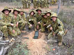 Teamwork the key for Gladstone cadet unit