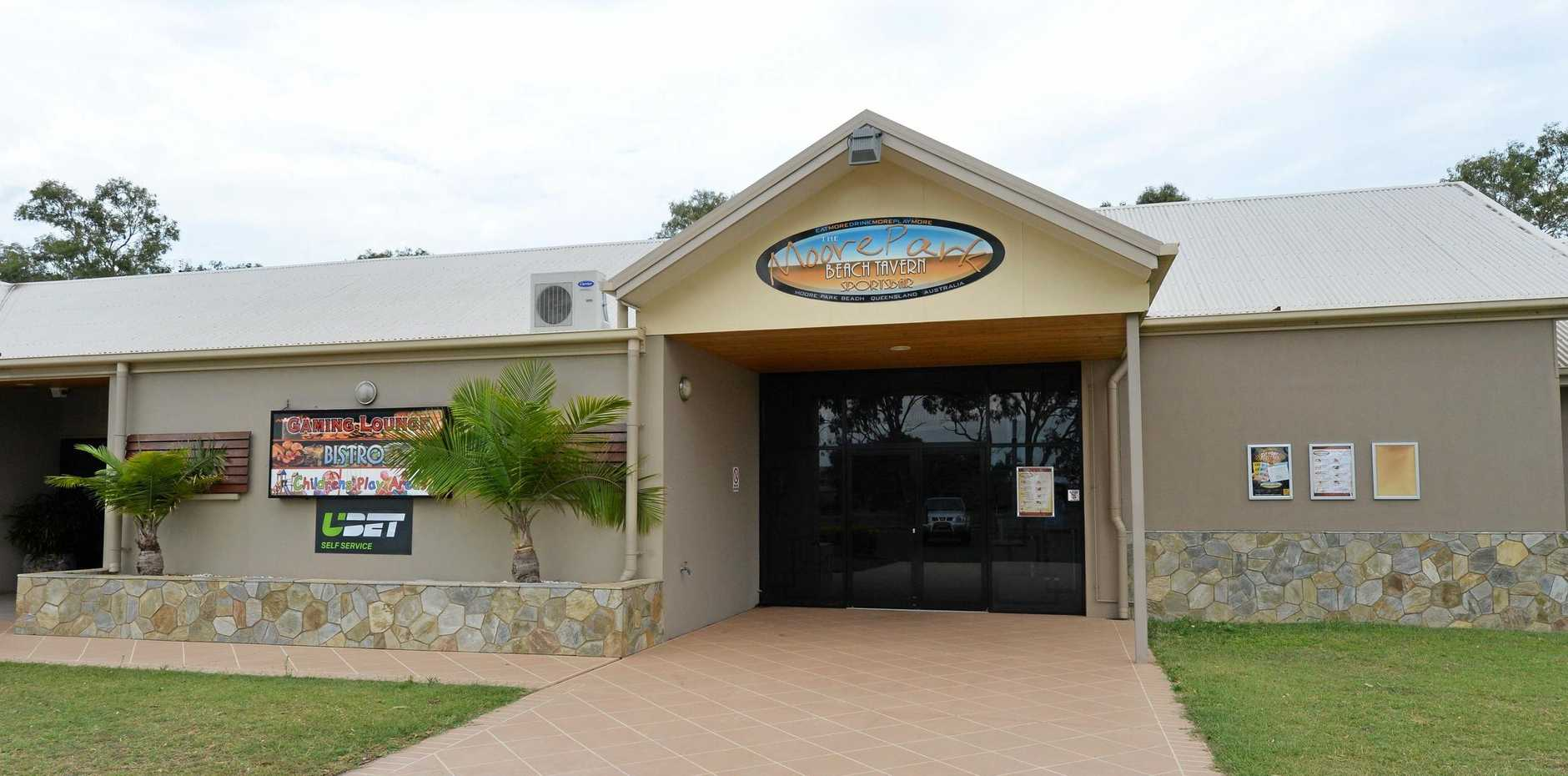 GRAFFITI: Police are investigating after the Moore Park Beach Tavern was graffitied.